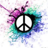 peace sign, cool, color, hippie, awsome