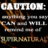 Caution: SPN