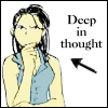 Tsukihime: Deep in thought Izumi