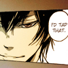 that's how i'm programmed to function: hibari; i'd tap that