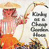 Kinky as a cheap garden hose!