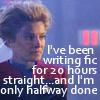 Janeway writing