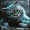 Burton's Cheshire Cat