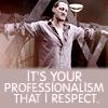 Alastair - Professionalism