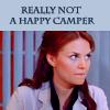 Cameron - Not a happy camper