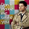MegTDJ: SPN - Castiel smite you