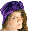 all about the purple hat!