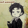 Queerly: Sherlock Holmes: Not amused