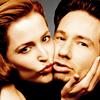 shhh. my common sense is tingling~: gillian & david >> kisses