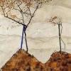 Egon Schiele - To Fly