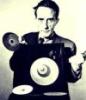 M Duchamp with Op Art