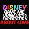 Disney gave me...