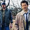 Castiel & Bobby