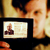 harder, harder, hardest; i am the artist: dr who -- eleven | library card