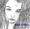 Holmes sketch, Katie Holmes (my sketch)