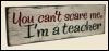 I´m a teacher