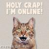 holy crap, online