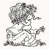 девочка-цветок