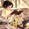 Meret: girlreading