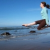 leap by the sea