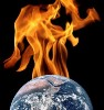 Earth on fire, environment