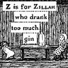 prone to mischief: Z is for zillah