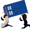 Dr Who/SPN - angels have the blue box