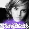 Black and White Hermione Purple