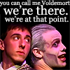 call me voldemort we're there