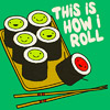 Jessica K Malfoy: food: how i roll sushi