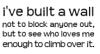 Built a Wall