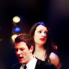 glee: finnchel singing