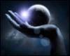 планета на руке
