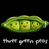 Three Green Peas: Easy Peasy, Simple Pimple.
