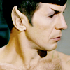 Shirtless Spock