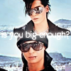 is you big enough?