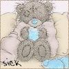 Teddy: Tatty (Sick)