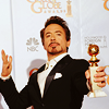 Hank Moody Blues: RDJ | Golden Globe
