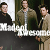 made of awesome, supernatural, sam, castieal, dean