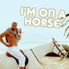 etc // the man // i'm on a horse