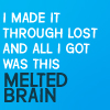 sassy, classy, and a bit smart-assy: LOST melted brain