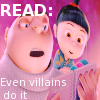 Despicable Me: READ