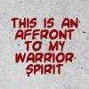 GK affront to warrior spirit