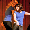 [glee] dianna/lea push it