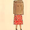 bag onna head by wendleberry