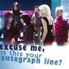 autograph line