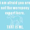 Werepony expert