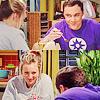 Sheldon & Penny Smiling