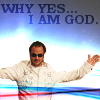 Proud Misha Minion: Mark Sheppard - Yes I am god.