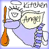 Comic Book Goddess: cooking - kitchen angel